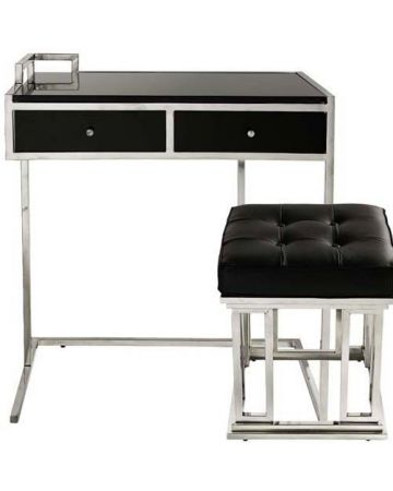 Eichholtz Equinox Desk & Stool