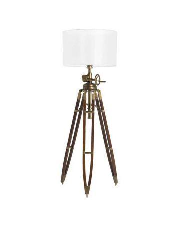 Eichholtz Royal Marine Floor Lamp - 'Antique' Brass