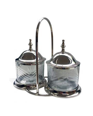 Barrington Lid Condiment Jars