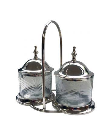 Barrington Lidded Condiment Jars