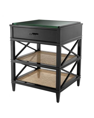 Eichholtz Bahamas Side Table - Black