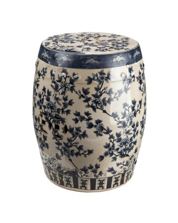 Tea Tree Ceramic Stool