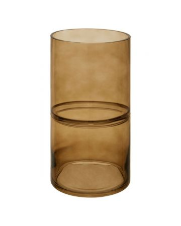 Optik Smoked Vase - Tall