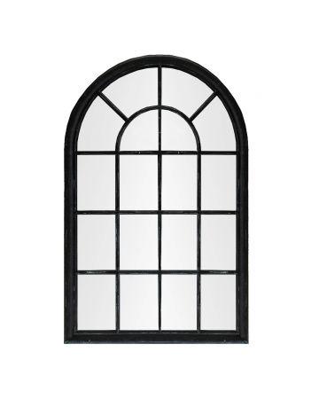 Pembridge Arch Mirror - Black