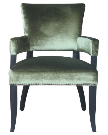 Lexington Chair - Green Velvet