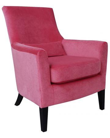 Loulou Arm Chair - Blush Velvet