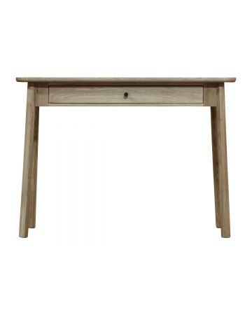 Fuji 1 Drawer Desk - Grey