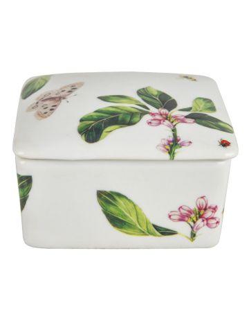 English Garden Square Box