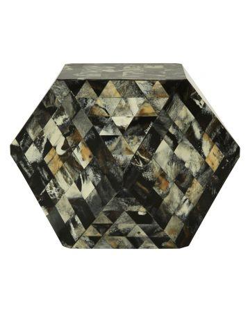 Marlox Cube Stool - Green
