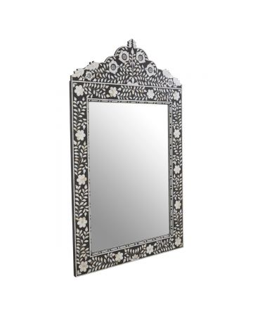 Raffles Inlaid Mirror
