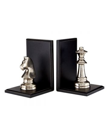 Chess Bookend Set