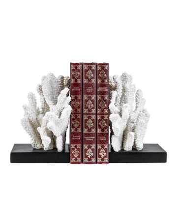 Windley Key Coral Bookend Set