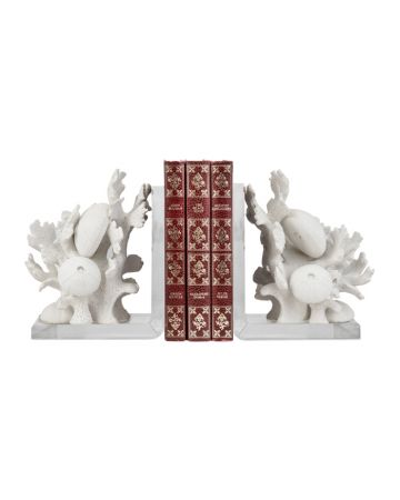 Reef Bookend Set