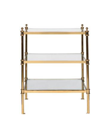 Cavendish Lamp Table - Gold