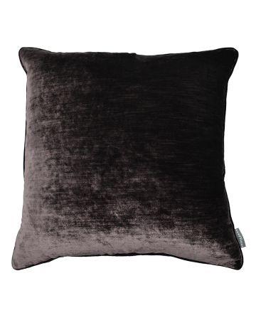 Luxury Velvet Cushion - Bronze
