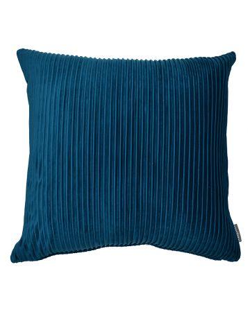 Thevenon Pleats Velvet Cushion – Teal