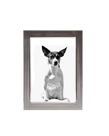 Textured Silver Photo Frame - 5x7