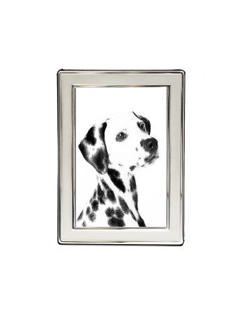 "Satin Silver Photo Frame - 4x6"""