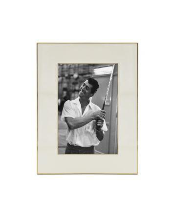 White Enamel Photo Frame - 4x6