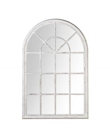 Pembridge Arch Mirror - White