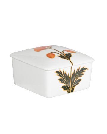 Mughal Flowers Square Box