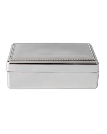 Connell Nickel Box - 13.5 cm