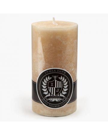 Pillar Candle Cream - 14cm