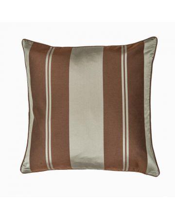 Baroque Stripe Cushion - Sea