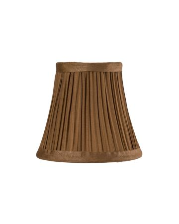 Bronze Pleat Chandelier Lamp Shade