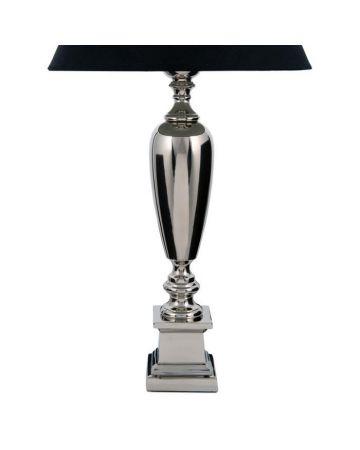 Napier Nickel Lamp Base