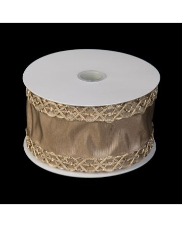 Ribbon-Gold on Gold Embroidery