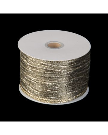 Ribbon - Textured Gold