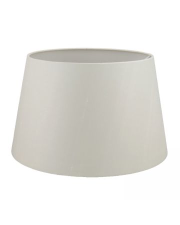 Ivory Silk Drum Shade - 16""