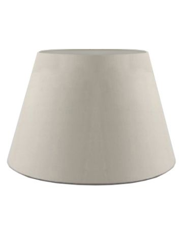 Oyster Silk Drum Shade - 18""
