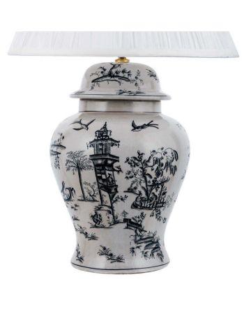 Pavilion Temple Jar Lamp Base