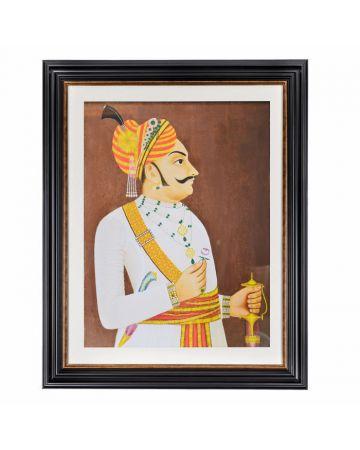 Maharaja Thakur Yaswanta Framed Print