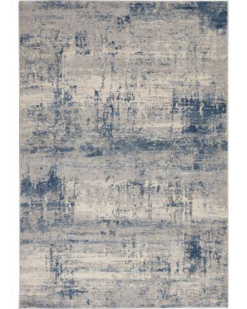 Valencia Rug - Ivory Blue