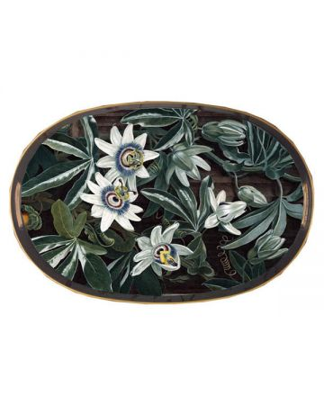 Al Fresco Oval Tray - Passion