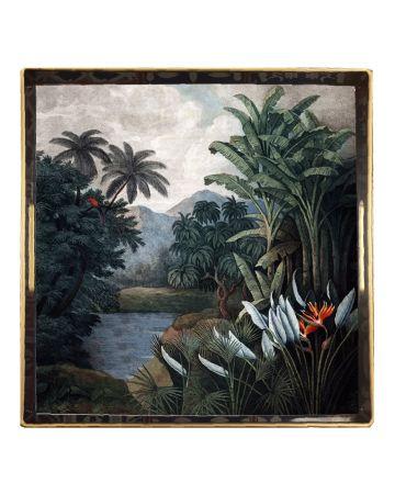 Al Fresco Square Tray - Jungle