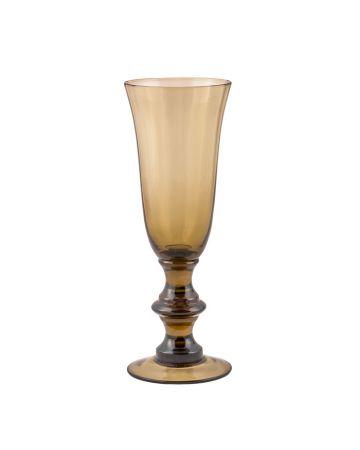 Moriano Champagne Flute-Olive