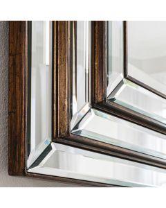Antibes Mirror - Bronze Edge
