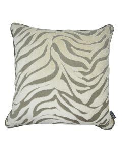 Zebra Acacia Velvet Square Cushion