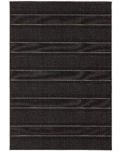 Terrazza Rug - Charcoal Stripe