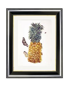 Untitled (Pineapple & Butterfly) - Maria Sibylla Merian