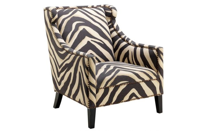Jenner Armchair - Zebra