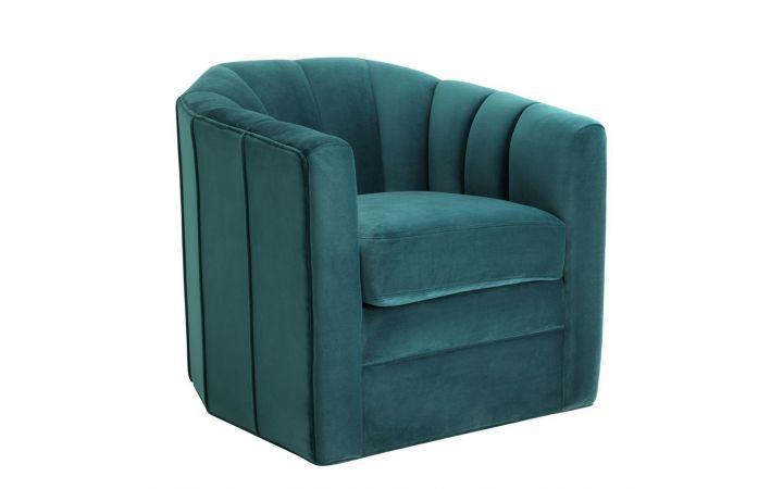 Eichholtz Delancey Swivel Chair - Savona Sea Green