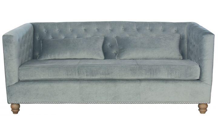 Westport Sofa - Dove Grey Velvet