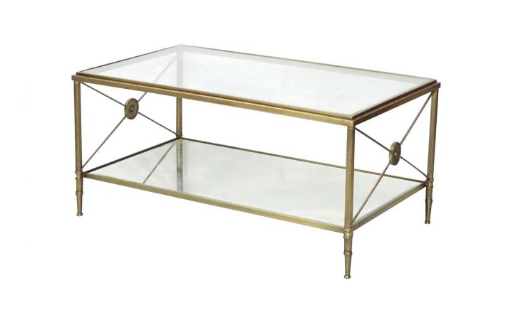 Crosby Coffee Table - Clear