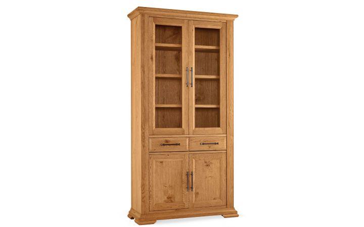 Finca Oak Display Cabinet
