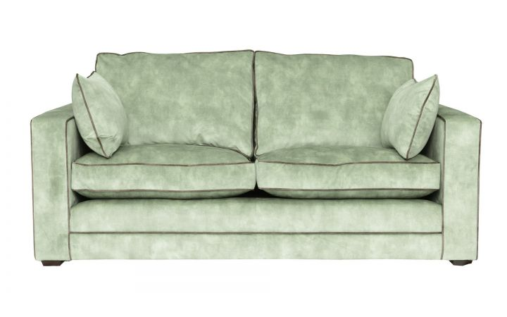 Chrysler Medium Sofa - 'Warwick Lovely' Celery
